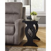 Ashley Braunsen Black Chair Side Table Available Online in Dallas Fort Worth Texas