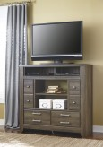 Ashley Juararo Media Chest with Fireplace Available Online in Dallas Fort Worth Texas
