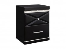 Ashley Fancee Black Night Stand Available Online in Dallas Fort Worth Texas