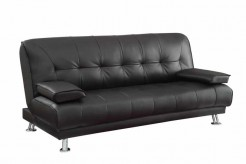 Coaster Braxton Black Sofa Bed Available Online in Dallas Fort Worth Texas