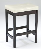 Kimonte Ivory Upholstered Counter Height Barstool Available Online in Dallas Fort Worth Texas