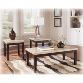 Ashley Wilder 3pc Espresso Coffee Table Set Available Online in Dallas Fort Worth Texas