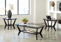 Ashley Lanquist 3pc Brown Coffee Table Set Available Online in Dallas Fort Worth Texas