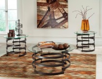 Ashley Kaymine 3pc Black Coffee Table Set Available Online in Dallas Fort Worth Texas