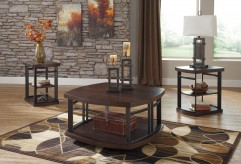 Ashley Challiman 3pc Coffee Table Set Available Online in Dallas Fort Worth Texas