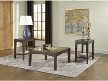 Ashley Cronnily 3pc Brown Coffee Table Set Available Online in Dallas Fort Worth Texas