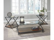 Ashley Banilee 3pc Chestnut Coffee Table Set Available Online in Dallas Fort Worth Texas