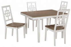 Ashley Brovada Two-tone Dining Room Set Available Online in Dallas Fort Worth Texas