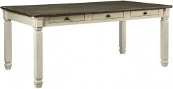 Ashley Bolanburg Rectangular Dining Table Available Online in Dallas Fort Worth Texas