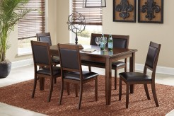 Ashley Meredy Brown 6pc Dining Room Set Available Online in Dallas Fort Worth Texas