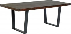 Ashley Parlone Dark Brown Dining Room Table Available Online in Dallas Fort Worth Texas