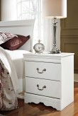 Ashley Anarasia White 2 Drawer ... Available Online in Dallas Fort Worth Texas