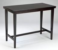 Kimonte Dark Brown Rectangular Dining Room Counter Height Table Available Online in Dallas Fort Worth Texas