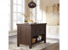 Ashley Trudell Dark Brown Counter Height Table Available Online in Dallas Fort Worth Texas