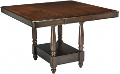 Ashley Leahlyn Medium Brown Counter Height Dining Table Available Online in Dallas Fort Worth Texas