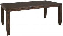 Ashley Trudell Dark Brown Rectangular Dining Table Available Online in Dallas Fort Worth Texas