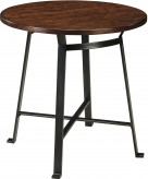 Ashley Challiman Rustic Brown Pub Table Available Online in Dallas Fort Worth Texas