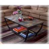 Ashley Antigo Black Coffee Table Available Online in Dallas Fort Worth Texas