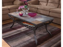 Ashley Antigo Metal Coffee Table Available Online in Dallas Fort Worth Texas