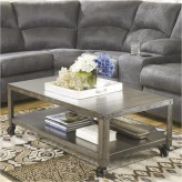 Ashley Hattney Gray Coffee Table Available Online in Dallas Fort Worth Texas
