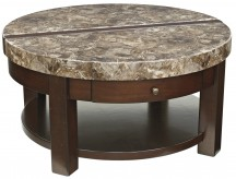 Ashley Kraleene Round Lift Top Cocktail Table Available Online in Dallas Fort Worth Texas