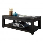 Gavelston Black Coffee Table Available Online in Dallas Fort Worth Texas