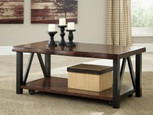 Ashley Esmarina Rectangular Cocktail Table Available Online in Dallas Fort Worth Texas