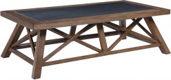 Ashley Campfield Brown Rectangular Cocktail Table Available Online in Dallas Fort Worth Texas