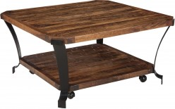 Ashley Taddenfeld Medium Brown Square Cocktail Table Available Online in Dallas Fort Worth Texas