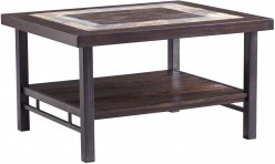 Ashley Gallivan Two-tone Rectangular Cocktail Table Available Online in Dallas Fort Worth Texas