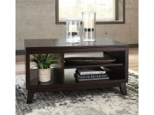 Ashley Chanceen Dark Brown Coffee Table Available Online in Dallas Fort Worth Texas