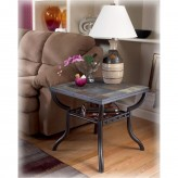 Ashley Antigo Black End Table Available Online in Dallas Fort Worth Texas