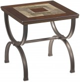 Ashley Zander Square End Table Available Online in Dallas Fort Worth Texas