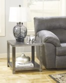 Ashley Hattney Gray End Table Available Online in Dallas Fort Worth Texas