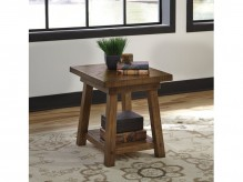 Ashley Dondie Rustic Brown End Table Available Online in Dallas Fort Worth Texas