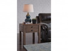 Ashley Keeblen Grayish Brown End Table Available Online in Dallas Fort Worth Texas