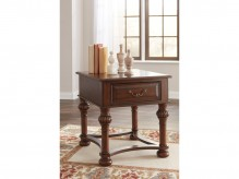 Ashley Beisterfield Brown Rectangular End Table Available Online in Dallas Fort Worth Texas