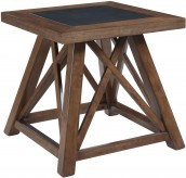 Ashley Campfield Square End Table Available Online in Dallas Fort Worth Texas