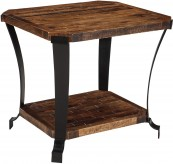 Ashley Taddenfeld Medium Brown Rectangular End Table Available Online in Dallas Fort Worth Texas
