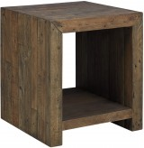 Ashley Sommerford Brown End Table Available Online in Dallas Fort Worth Texas
