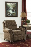 Ashley Walworth Accent Garnet Low Leg Recliner Available Online in Dallas Fort Worth Texas