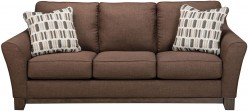 Ashley Alara Chocolate Sofa Available Online in Dallas Fort Worth Texas