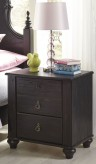 Ashley Corilyn Dark Brown Two Drawer Nightstand Available Online in Dallas Fort Worth Texas