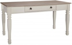 Ashley Sarvanny Home Office Large Leg Desk Available Online in Dallas Fort Worth Texas