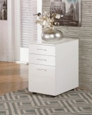 Ashley Baraga White File Cabinet Available Online in Dallas Fort Worth Texas
