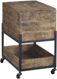 Ashley Viganni Light Brown File Cabinet Available Online in Dallas Fort Worth Texas