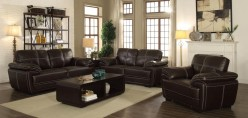 Coaster Zenon Brown Sofa Available Online in Dallas Fort Worth Texas
