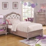 Coaster Caroline Metallic Lilac Queen Bed Available Online in Dallas Fort Worth Texas