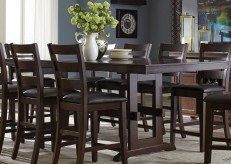 Coaster Holbrook Antique Tobacco Extendable Counter Height Dining Table Available Online in Dallas Fort Worth Texas