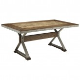 Coaster Beckett Dark Oak Dining Table Available Online in Dallas Fort Worth Texas